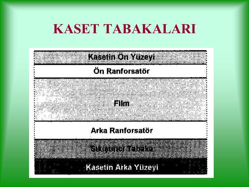KASET Radyografi işlemi sırasında filmin ışık almasını önleyen ve ranforsatör-film temasını sağlayan aletlerdir. Özel kilitli kapakları vardır. Röntge