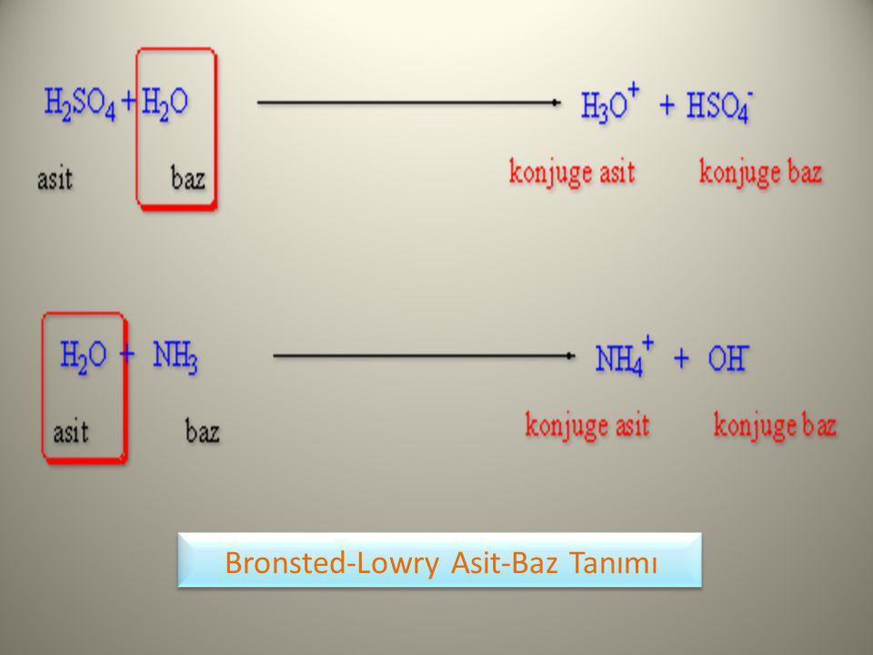 Bronsted-Lowry Asit-Baz Tanımı