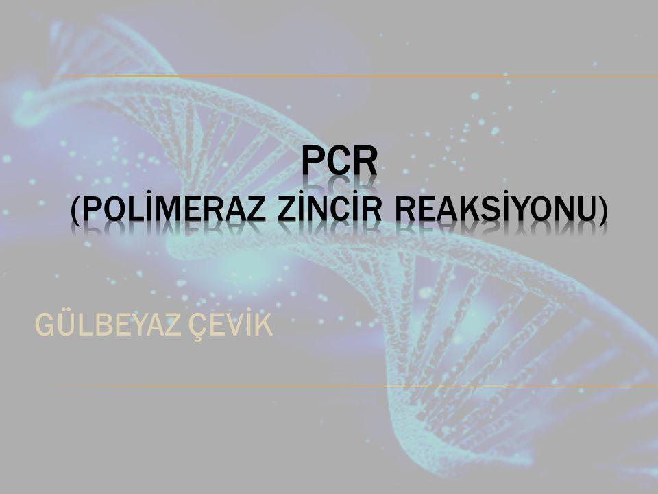 1985 de bilim dünyasına sunulduğundan itibaren polimeraz zincir reaksiyonu (PCR); hem araştırmada hem de klinik laboratuarlarda tanıda yeni bir çığır açmıştır.