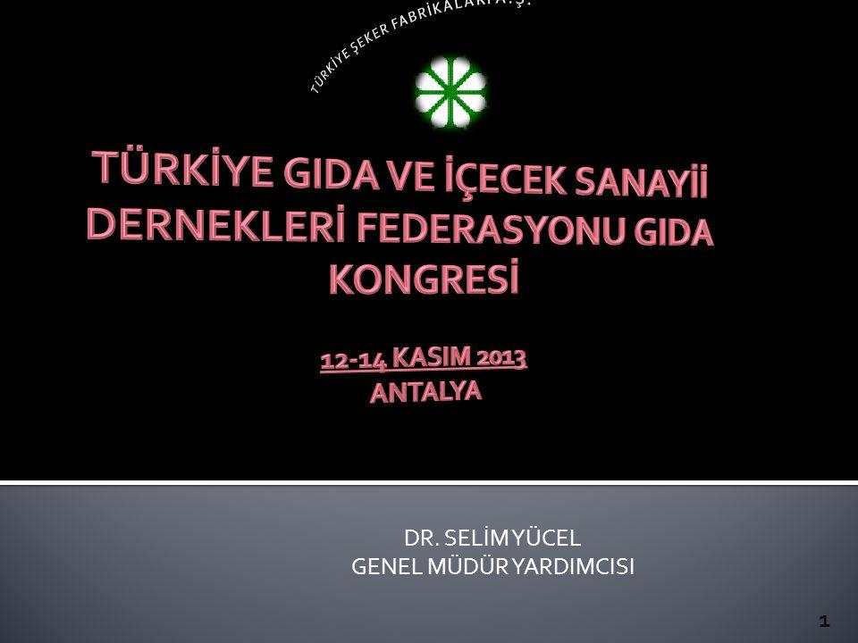 DR. SELİM YÜCEL GENEL MÜDÜR YARDIMCISI 1