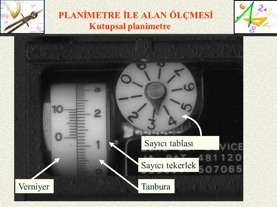 SCALE tuşuna basılarak alanı ölçülecek olan planın ölçeği şu şekilde ayarlanır;  SCALE  A: 500  SCALE  b: 500  SCALE Bu aşamalar takip edilirse planın ölçeği 1/500 olarak ayarlanmış olur.