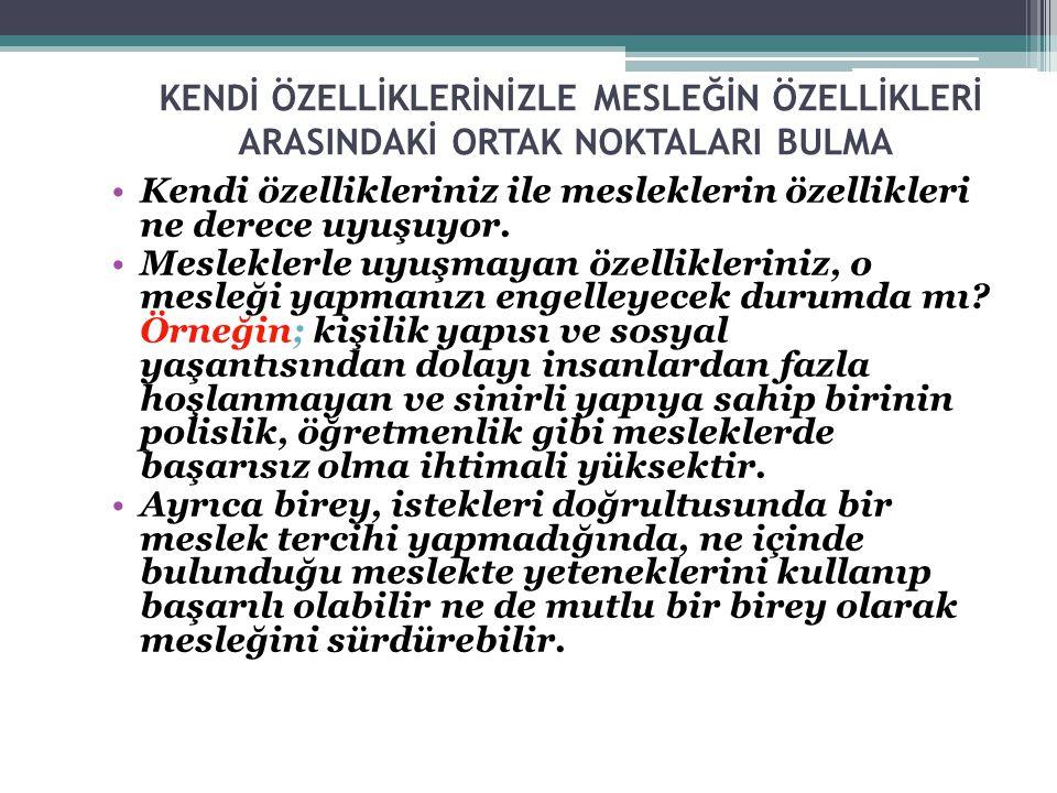 FEN BİLİMLERİ ALANINI KİMLER SEÇMELİ.