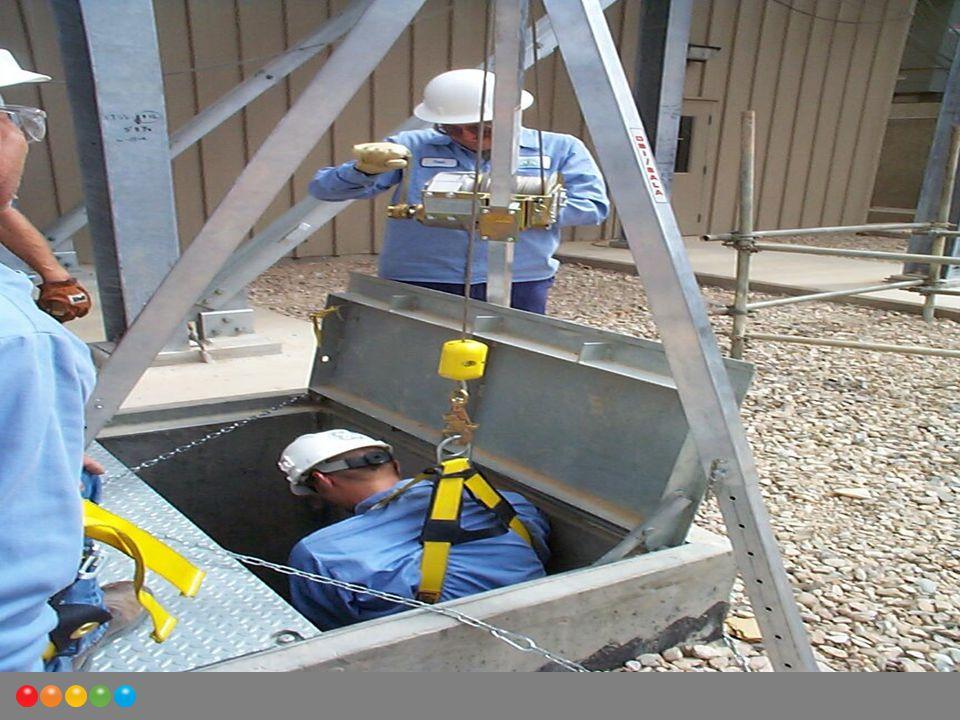 Gerekli önlemler alındıktan sonra, ISG emniyet elemanı tarafından gerekli giriş izni verilir ve böylelikle kapalı alana güvenle girilmiş olunur.