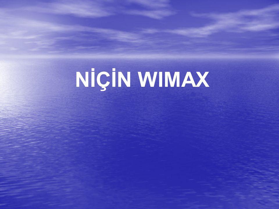 NİÇİN WIMAX