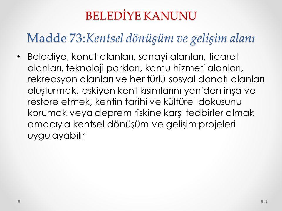 İMAR KANUNU madde 42: İdari Müeyyideler İmar mevzuatına aykırı yapılan yapılara uygulanacak idari yaptırımlar düzenlenmiştir.