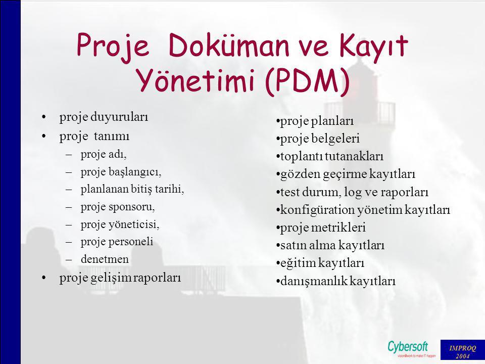Problem Çözümü Yönetimi (PRM) problem raporlarının hazırlanması konfigürasyon durum raporlama problem raporlarının hazırlanması problem raporlarının takibi