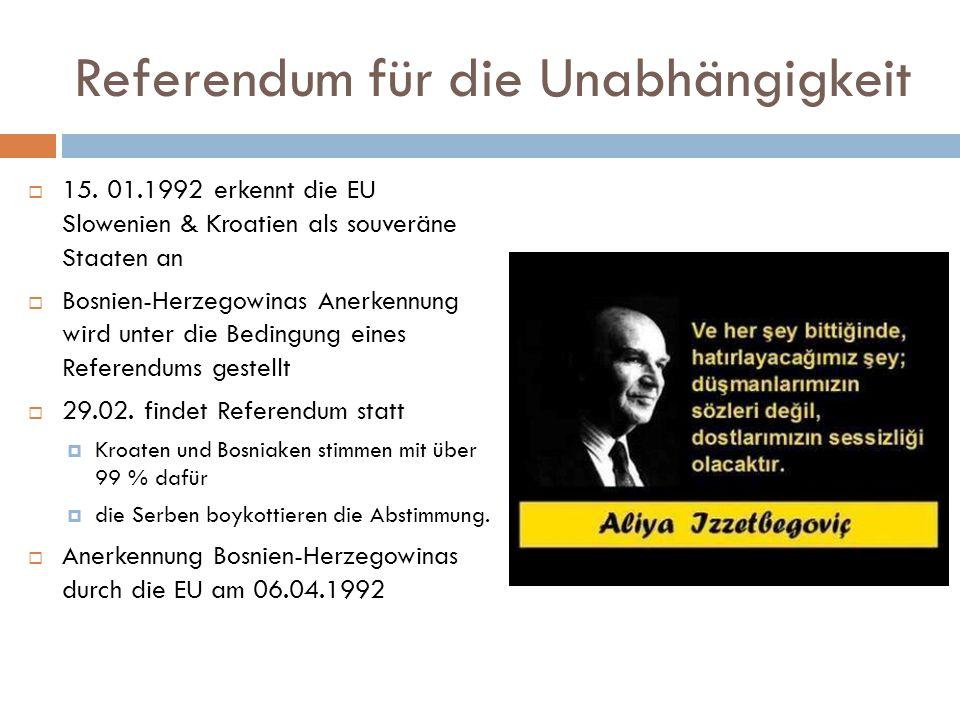 Referendum für die Unabhängigkeit  15.