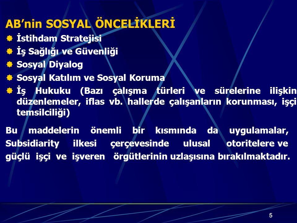 26  Unutulmamalıdır ki; Türkiye'nin müzakere sürecini en kısa sürede ve başarıyla tamamlayabilmesi, Avrupa Komisyonu'na doğru bilgilerin ulaştırılması ile mümkün olabilecektir.