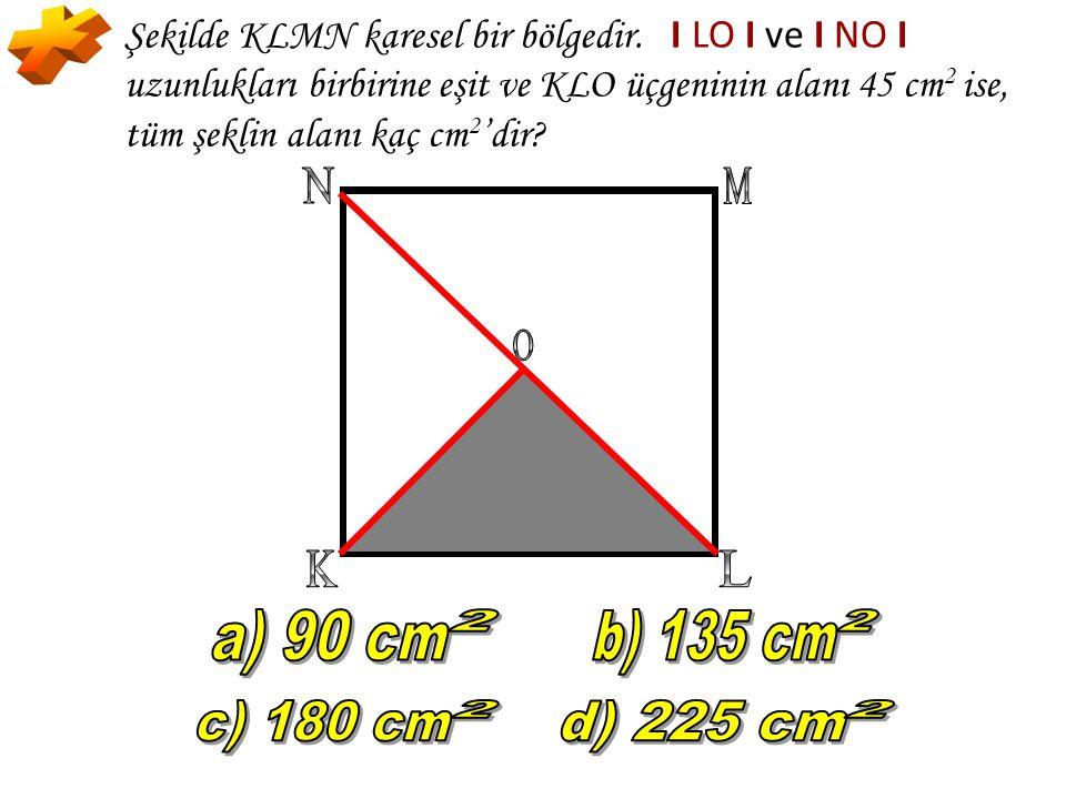 K arenin 2 köşegeni vardır. B ir köşegen kareyi iki eş parçaya; İ ki köşegen ise dört eş parçaya (üçgene) ayırır. KK arenin köşegenleri birbirini or