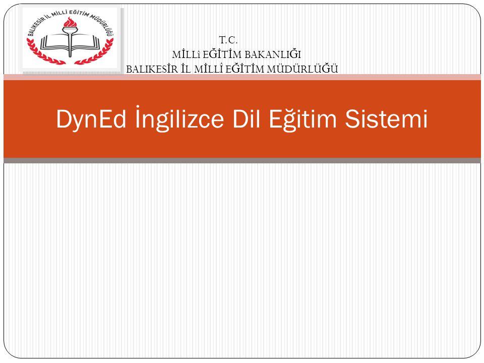 DynEd İngilizce Dil Eğitim Sistemi T.C.