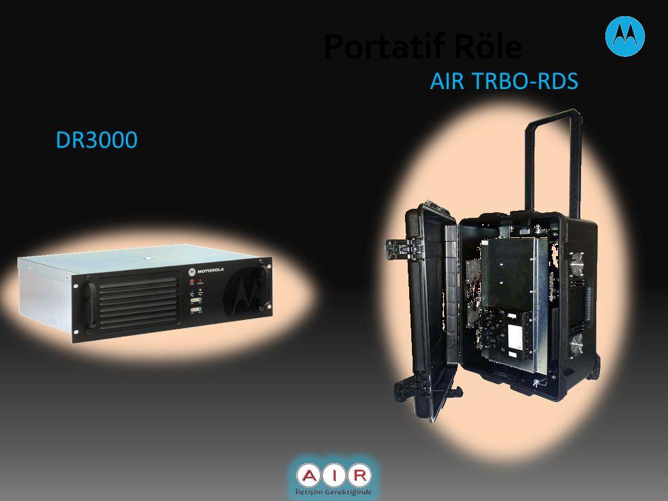 Portatif Röle DR3000 AIR TRBO-RDS