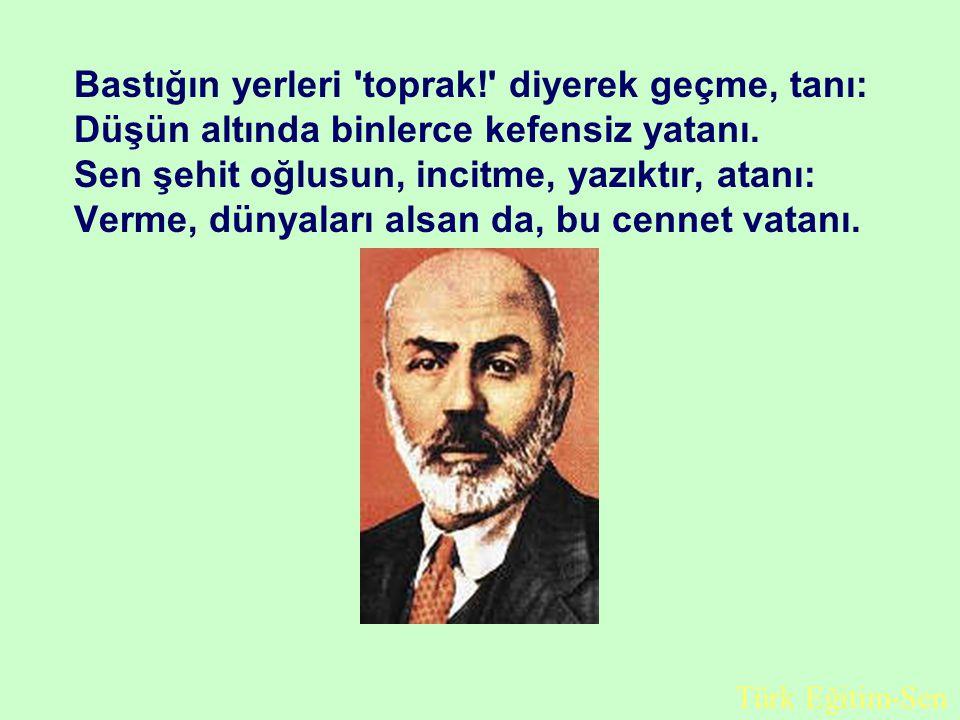 Atatürk Diyor ki; Millî müdafaamızı; düşmanların bayrakları, babalarımızın ocakları üstünden çekilinceye kadar terkedemeyiz.