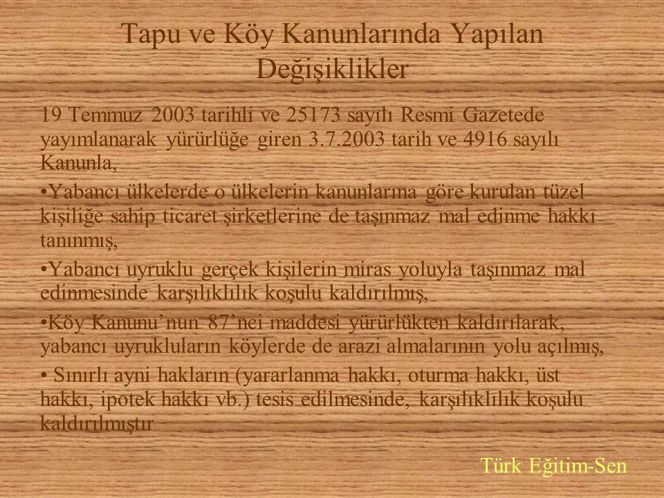 Bir başka tesadüf (?) Ekümenlik peşindeki patrikhane, azınlık vakıflarının mal edinmesine imkan veren düzenlemeler, ruhban okulunun açılması çabaları, Fener'i yeni bir Vatikan yapma arzularının göstergeleridir Sormadan geçemiyoruz, Yunan uyrukluların İstanbul'dan gayrimenkul almaları tesadüf mü.