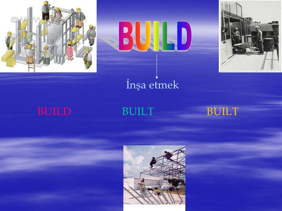 İnşa etmek BUILDBUILTBUILT