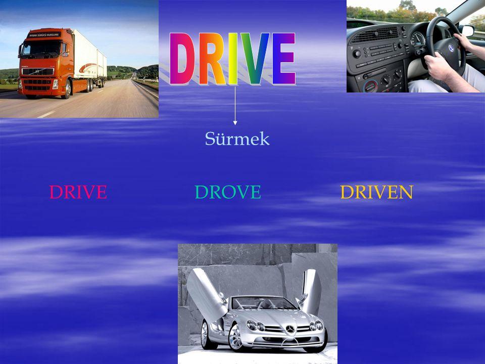 Sürmek DRIVEDROVEDRIVEN