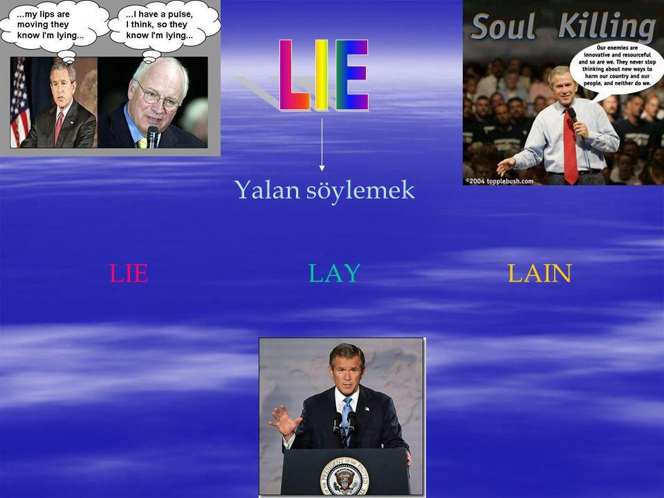 Yalan söylemek LIELAYLAIN