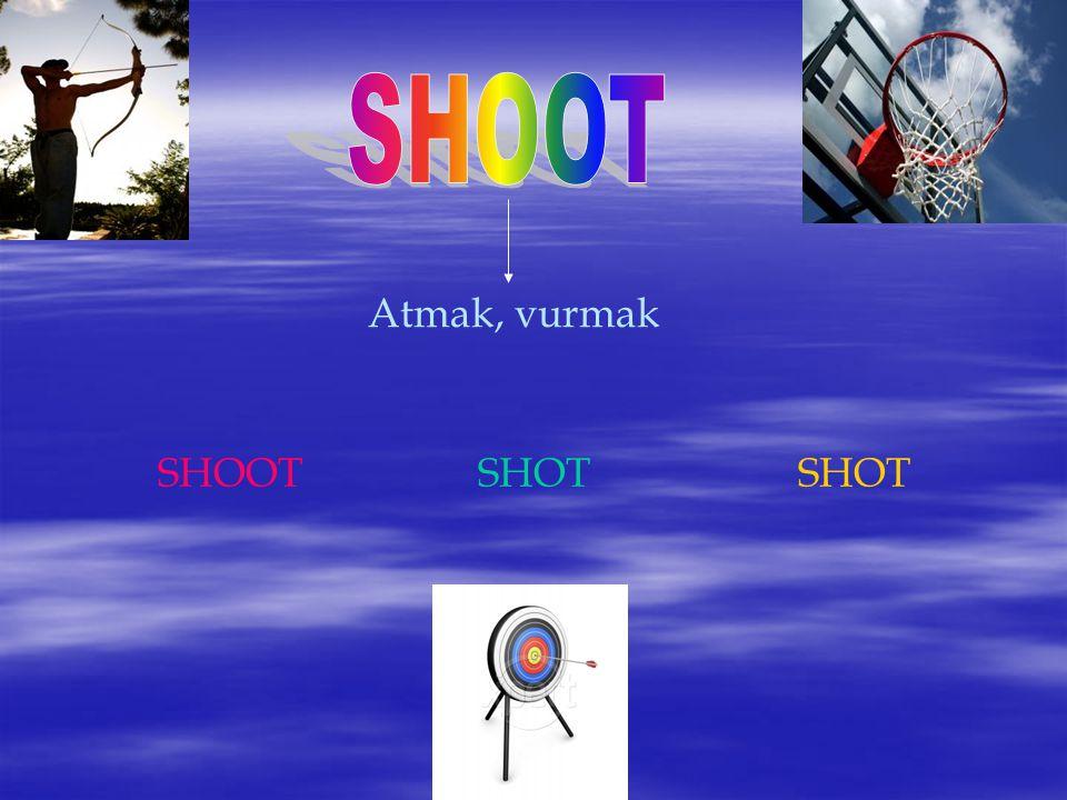 Atmak, vurmak SHOOTSHOTSHOT