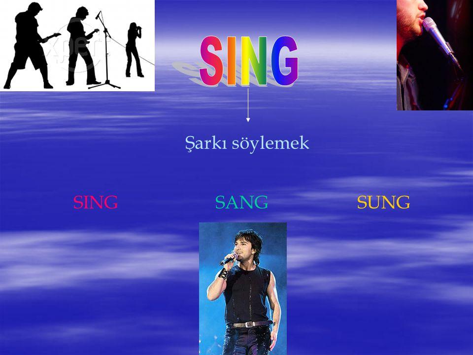 Şarkı söylemek SINGSANGSUNG