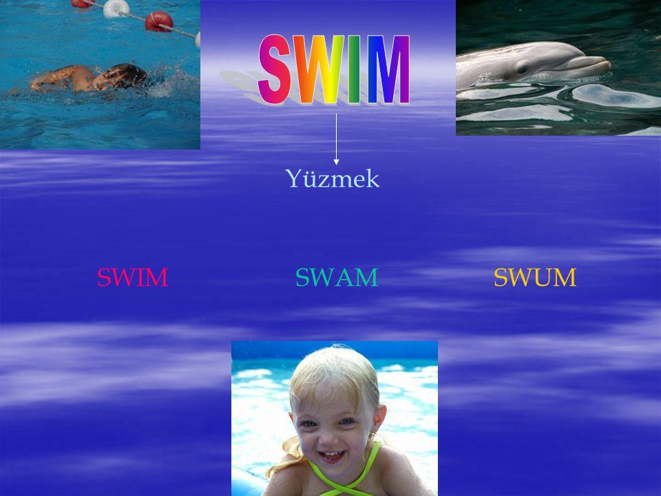Yüzmek SWIMSWAMSWUM