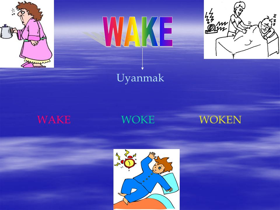 Uyanmak WAKEWOKE WOKEN