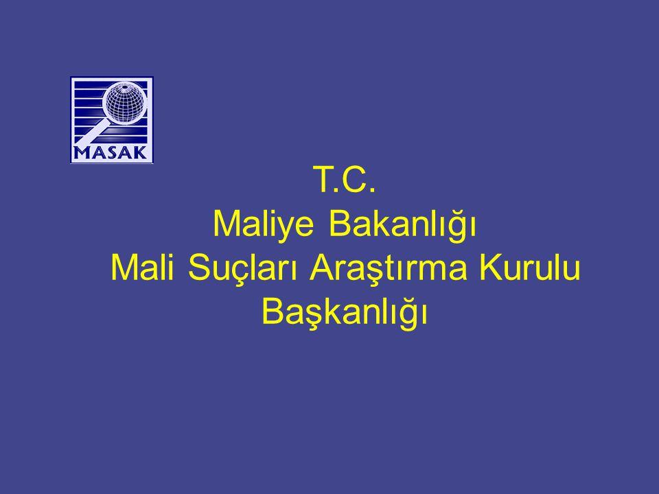 İçerik Kuruluş Maliye teşkilatı içindeki yeri MASAK organizasyon yapısı Fonksiyonları Yeni Kanun Tasarısı FATF ve FATF Değerlendirmesi