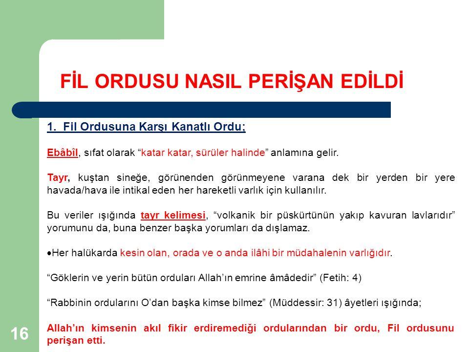 17 FİL ORDUSU NASIL PERİŞAN EDİLDİ 2.