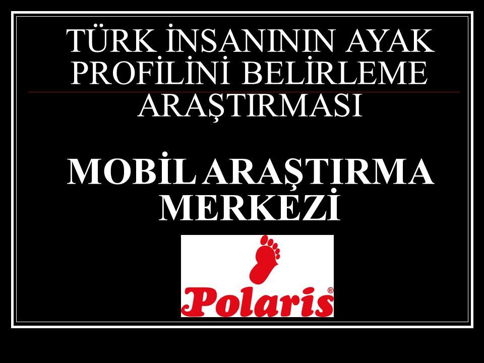 Türk İnsanının Ayak Profilini belirlemeyi amaçlayan Araştırması kapsamında, Op.