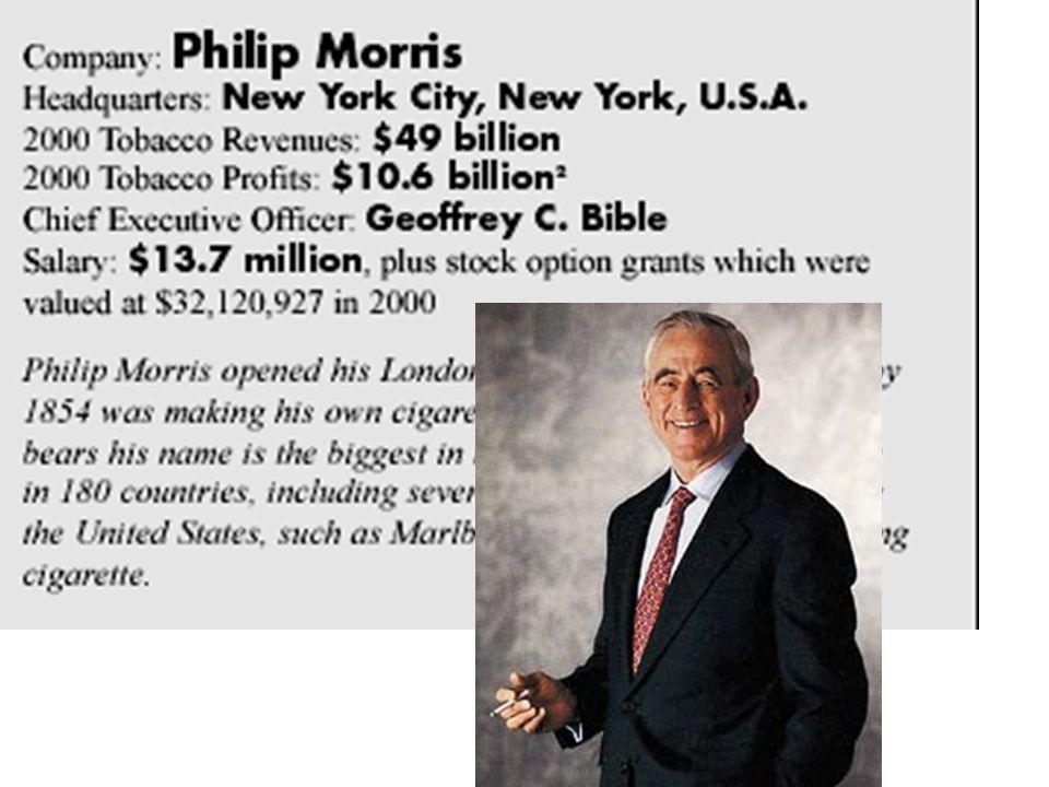British American Tobacco chairman, 1990 Bates no.