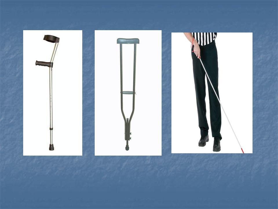 Yük verme Baston % 20-25 Baston % 20-25 Tek koltuk değneği %40-50 Tek koltuk değneği %40-50 Çift koltuk değneği %80 Çift koltuk değneği %80 Walker %30 - %85 - %100 Walker %30 - %85 - %100