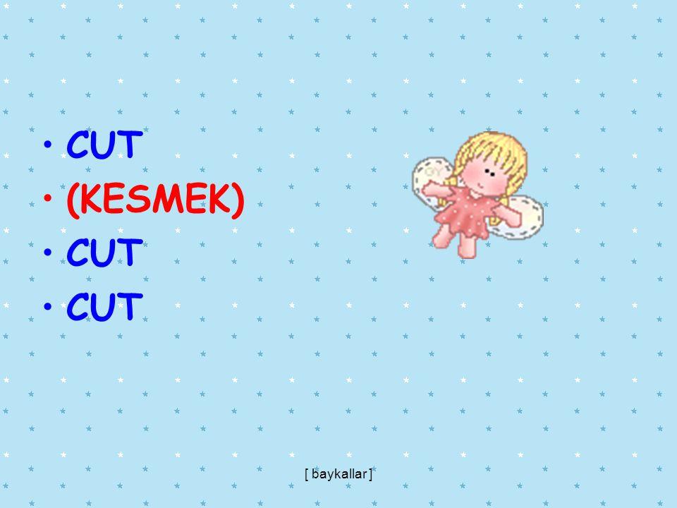 CUT (KESMEK) CUT [ baykallar ]