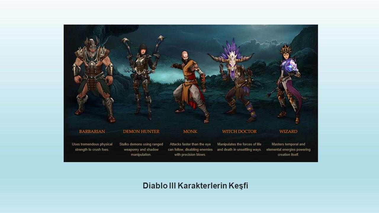 Diablo III Karakterlerin Keşfi