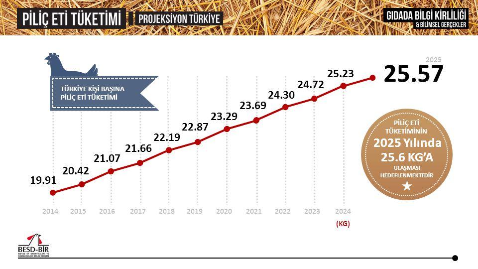 ABD BREZİLYA TÜRKİYE 3.093 3.067 3.161 3.300 3.425 3.222 3.272 3.443 3.508 3.625 1.105 440 86 206 2009 3.354 3.580 EU-27 765 934 1.044 1.094 1.095 110 285 365 20102011201220132014 Kaynak: USDA April 2013 Livestock and Poultry: World Markets and Trade (BİN TON) Brezilya ve Amerika Birleşik Devletleri piliç etinde en önemli iki ihracatçı ülke olma özelliklerini sürdürmektedirler.