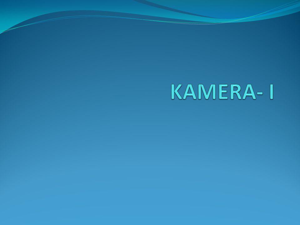 Kamera Nedir.Kameralar televizyon yayıncılığının temel donanımlarındandır.