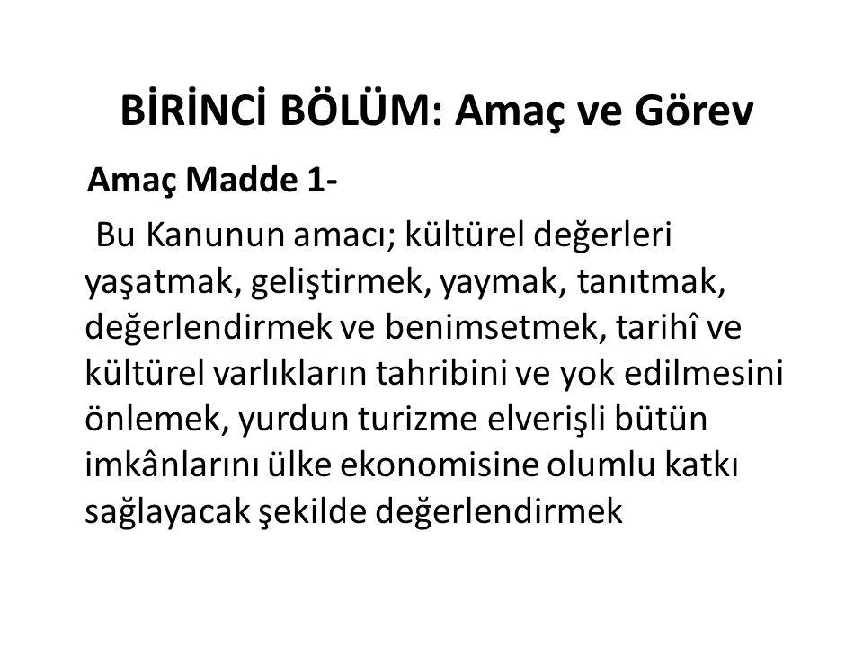 b) Ulusal resim ve heykel sanatları ile geleneksel Türk süsleme ve el sanatları koleksiyonlarını geliştirmek, c) Güzel sanatlara ilişkin çalışmaların sosyal ve kültürel gelişme bakımından verimli olması için tedbirler almak,
