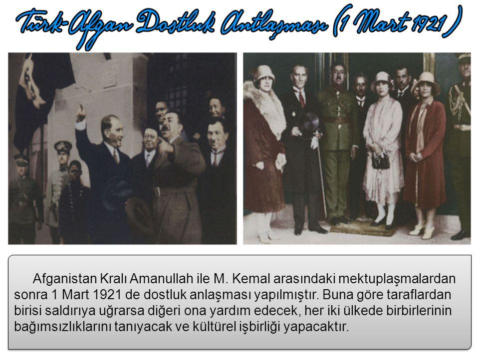 İtilaf Devletleri savaşla elde edemediklerini, masa başında yapabilmek için Sevr Anlaşmasını küçük değişikliklerle kabul ettirmek için I. İnönü Zaferi