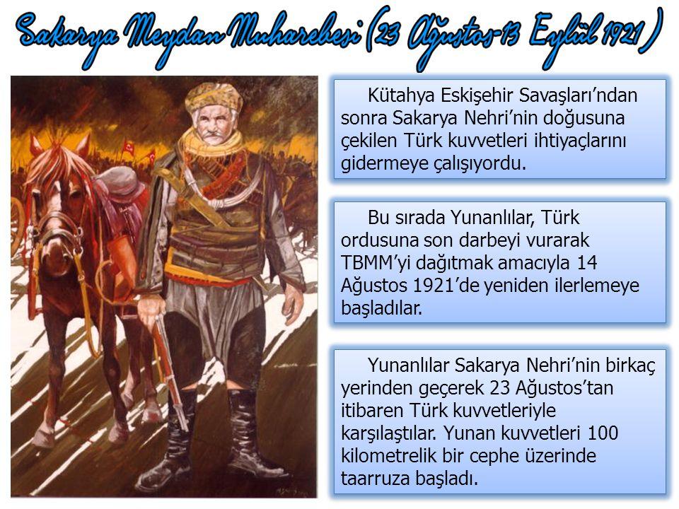 Afyon, Eskişehir ve Kütahya kaybedildi. Düzenli ordunun varlığı tartışılmaya başlandı. Ankara'dan Kayseri'ye taşınma fikirleri ortaya atıldı. Başkuman