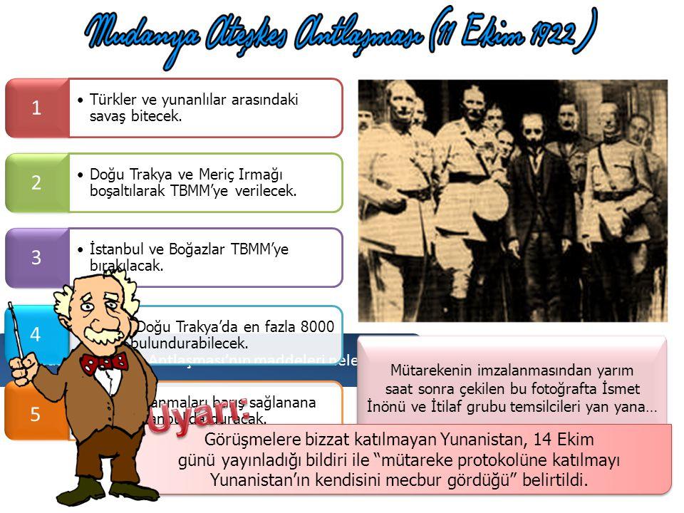 İşte Mudanya Ateşkes Antlaşması bu evde imzalandı