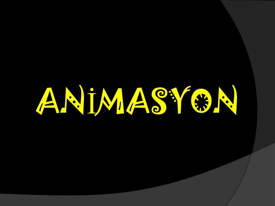AN İ MASYON
