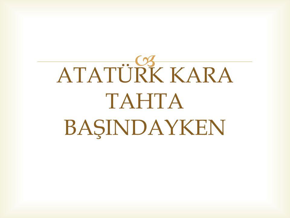   Harf devrimi günleriydi:  Yeni Türk Alfabesi nin ilk biçimlerini kendisine götürdüğüm zaman, komisyonun en aşağı beş yıllık bir geçiş dönemi düşündüğünü söylemiştim.