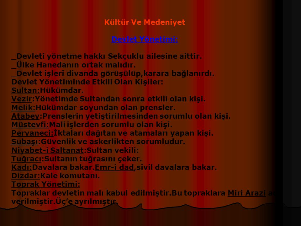 Anadolu'da Kurulan Beylikler Ve Özellikleri _Karamanoğulları(1256-1483):Konya,Karaman yöresinde kurulmuşlardır.Kendilerini A.S.Devletinin mirasçısı ol