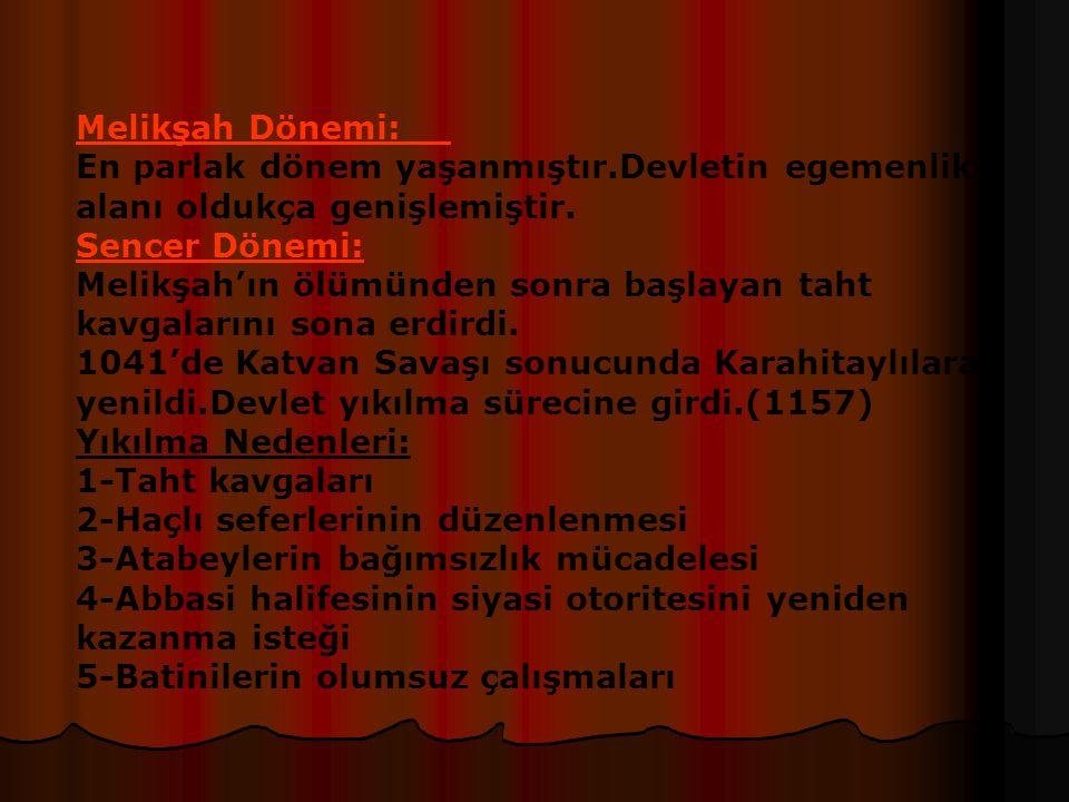 Pasinler Savaşı(1048) Nedeni:Türkleri Anadolu'dan atmak Anadolunun fethi için Bizansla yapılan ilk savaştır Sonuçları:Selçuklu Devleti kazanmıştır.