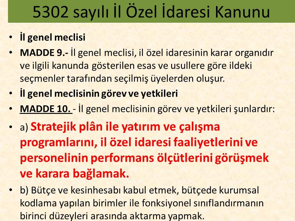 İl encümeni MADDE 25.