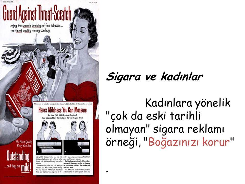 Sigara ve kadınlar Kadınlara yönelik