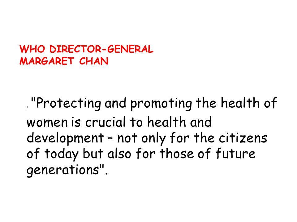 Dr.LEEJong –wook, Dünya Sağlık Örgütü önceki Genel Direktörü(2005) Doktorlar, hemşireler,ebeler, eczacılar, ( fizyoterapistler, psikologlar ve kendini sağlık hizmetine adamış olan diğer sağlık personeli; insanlara davranışlarını değiştirme konusunda yardım edebilirler.