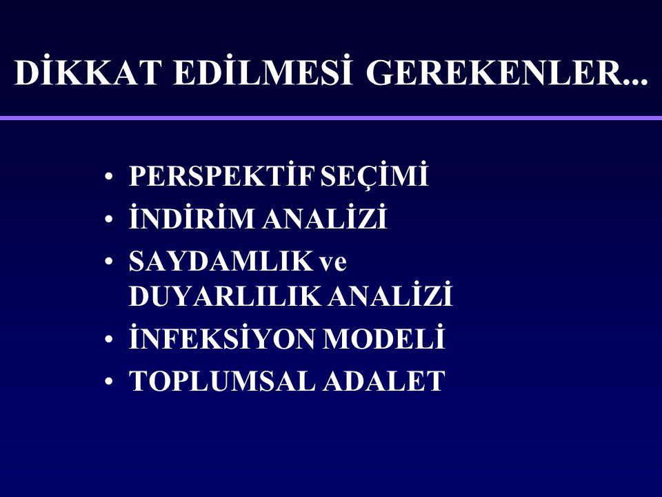 DİKKAT EDİLMESİ GEREKENLER...