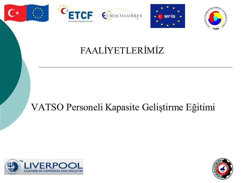 VATSO Personeli Kapasite Geliştirme Eğitimi