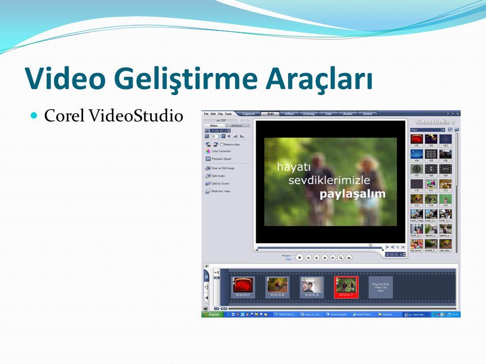 Video Geliştirme Araçları Corel VideoStudio