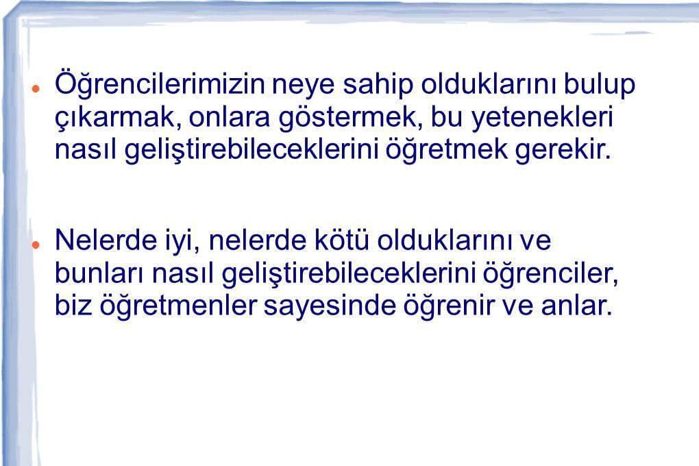 Ülkemizdeki bir çalışma (Kutlu: 1999) MEB ilköğretim Türkçe ders kitapları yer alan sorular incelenmiş ve sekiz yıl boyunca bütün sınıf düzeylerinde soruların en çok hatırlama (ortalama 0.77), daha az kavrama (ortalama 0.21) ve en az da uygulama (ortalama 0.02) davranışlarını ölçtüğü; kitaplarda analiz ve analiz üzeri düzeyde sorular sorulmadığı görülmüştür.