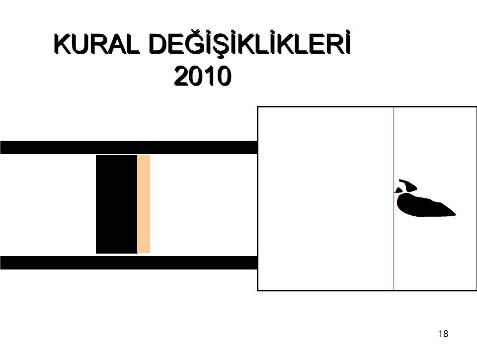 18 KURAL DEĞİŞİKLİKLERİ 2010