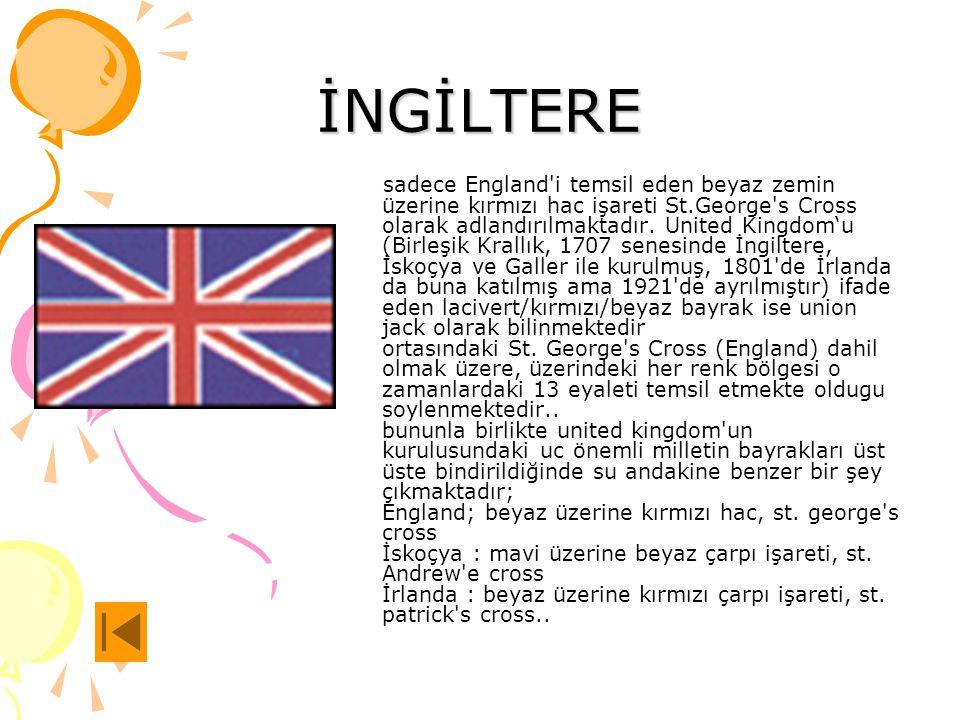 Bayrakların hikayelerini öğrenmek için üstüne tıkla İngiltere Almanya Fransa Rusya Avusturya KKTC Hindistan Küba Azerbeycan Japonya